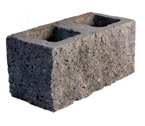Bloque esquinero simil piedra cer mica euzkadi for Baldosones de cemento