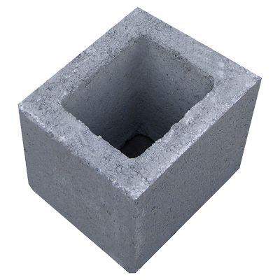 Medio bloque hormigon liso 19 cer mica euzkadi for Baldosones de cemento